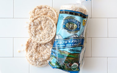 Organic Lightly Salted Brown Rice Cakes