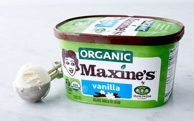Organic Vanilla Bean Ice Cream
