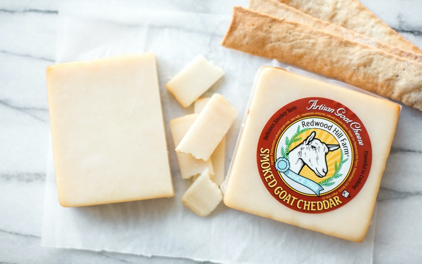 Smoked Goat Cheddar