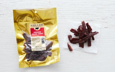 Grass-Fed Smoked Paleo Beef Strips