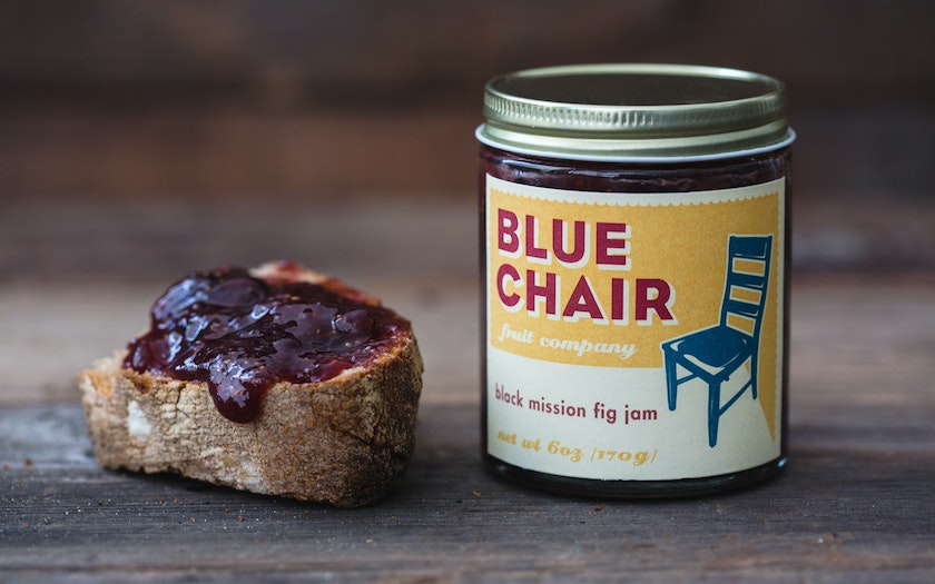 Black Mission Fig Jam - Blue Chair Fruit - SF Bay | Good Eggs