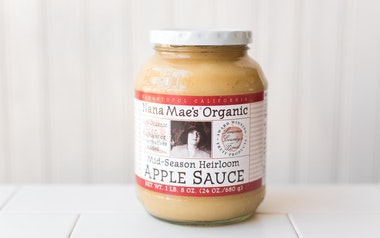 Organic Mid-Season Heirloom Applesauce