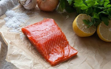 Wild California-Caught Salmon Single Portion