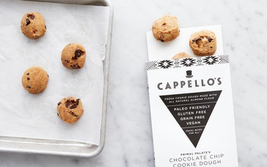Vegan & Gluten-Free Chocolate Chip Cookie Dough