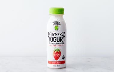 Organic Strawberry Cultured Coconut Yogurt Drink