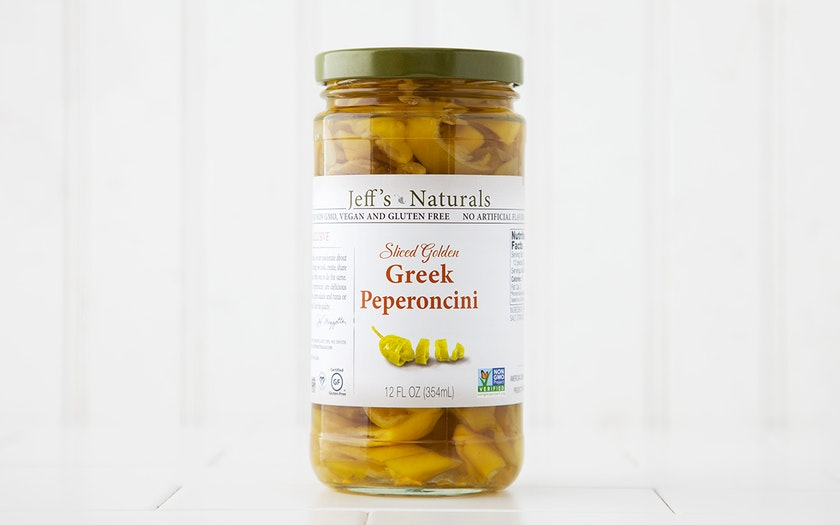 Sliced Greek Peperoncini