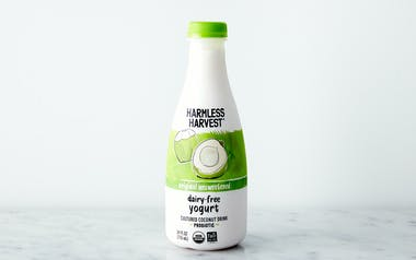 Organic Probiotic Cultured Coconut Yogurt Drink