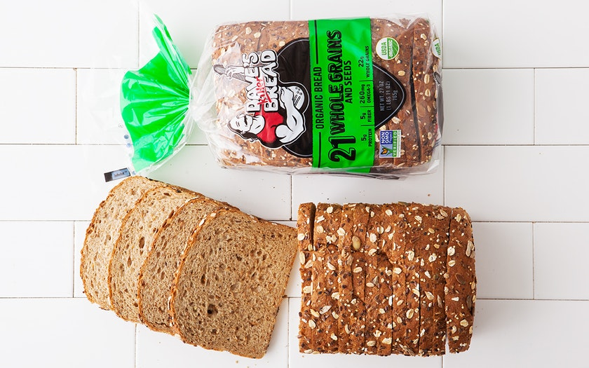Organic 21 Whole Grains & Seeds Bread
