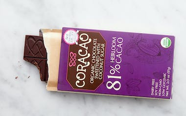 Organic Classic Dark Chocolate Bar (81%)