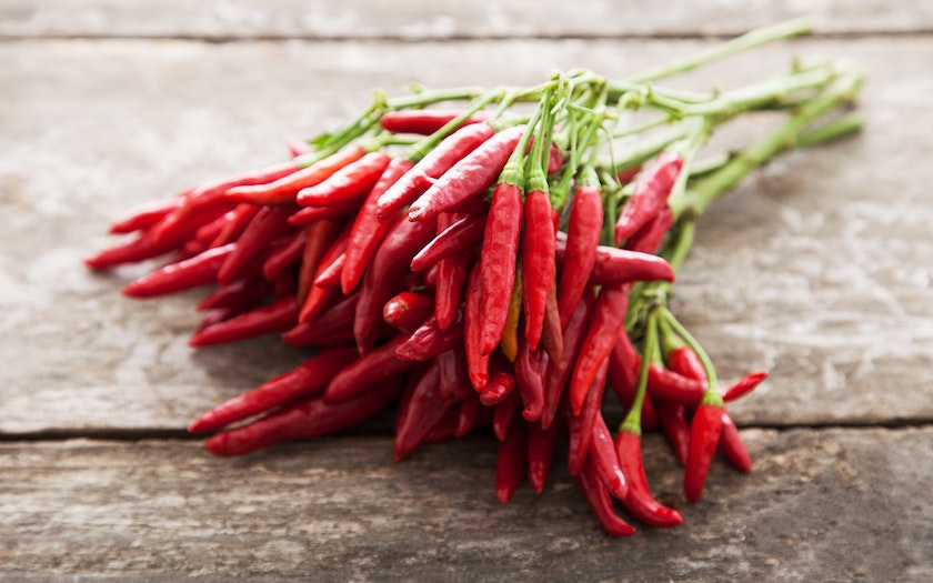 Organic Fresh Cayenne Peppers
