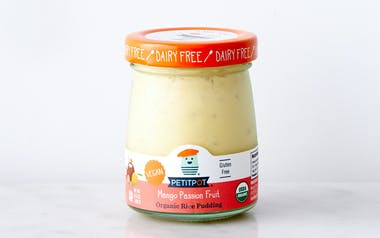 Organic Vegan Mango Passionfruit Coconut Rice Pudding