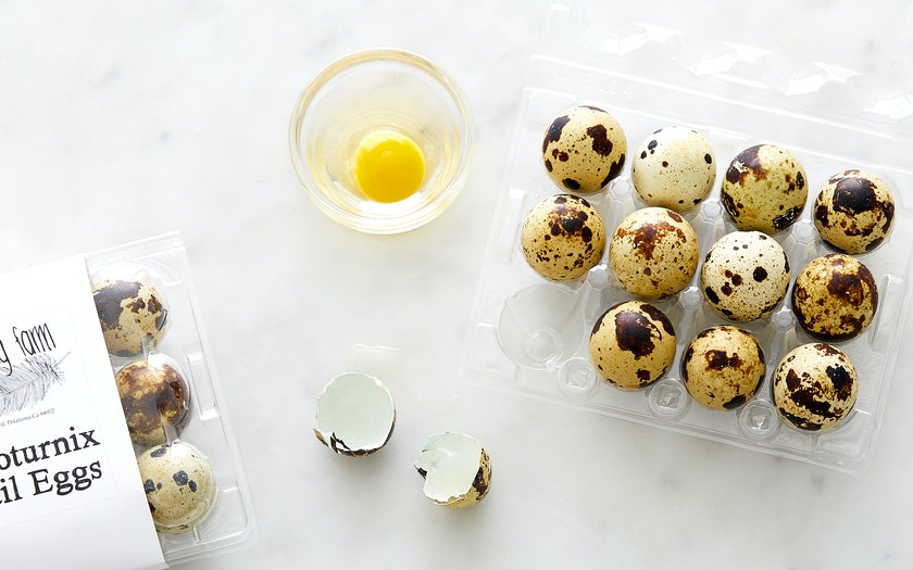 Baking Cakes With Quail Eggs