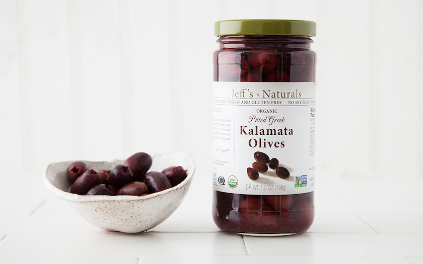 Organic Pitted Kalamata Olives