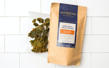 Sweet Potato & Beef Bone Broth Kale Chips