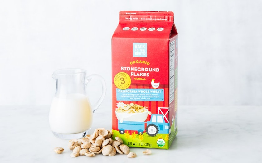 Organic California Stoneground Wheat Cereal