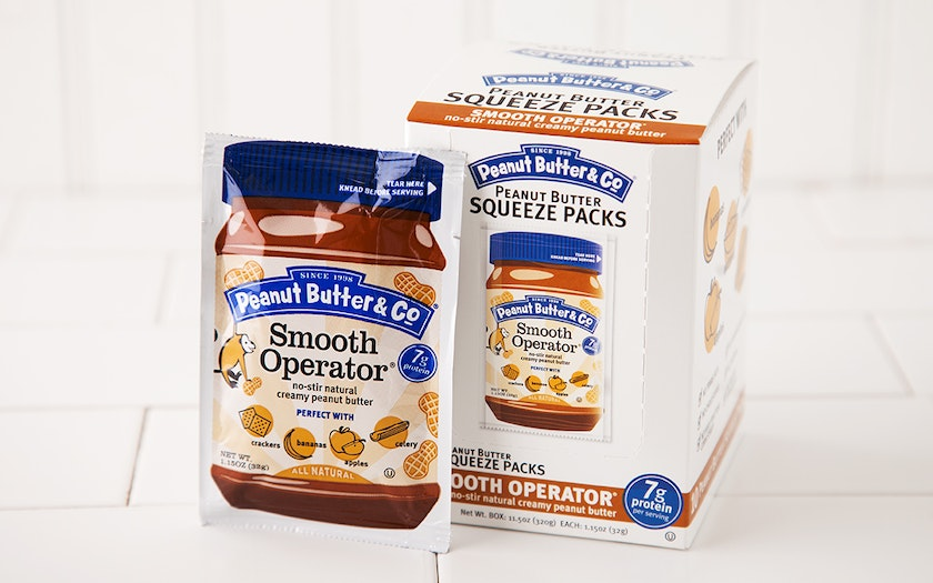 Smooth Operator Peanut Butter Squeeze Packs