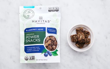 Organic Blueberry Hemp Power Snacks