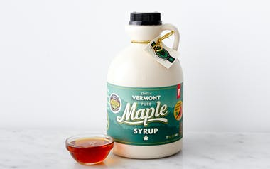 Grade A Dark Robust Organic Maple Syrup