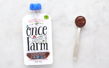 Organic Blueberry Coconut Oil Baby Food (7+ mos)