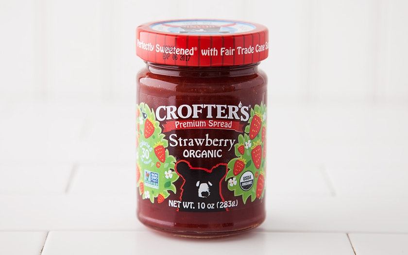 Organic Strawberry Spread