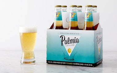 Palmia Lemon-Infused Lager