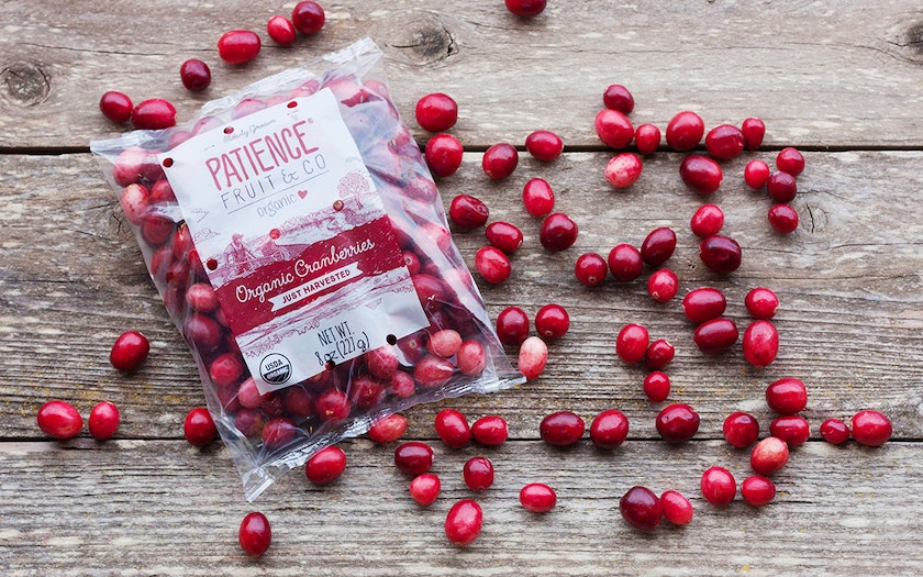 Organic Fresh Cranberries (Canada)