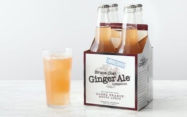 Blood Orange & Meyer Lemon Ginger Ale