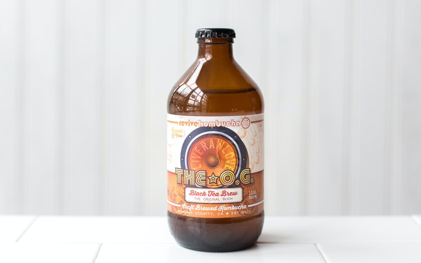 OG - Black Tea Brew Kombucha