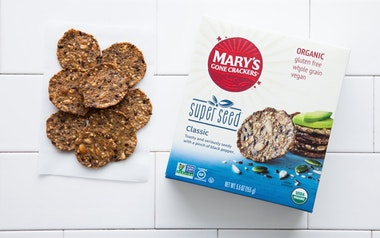 Organic Gluten-Free Super Seed Crackers