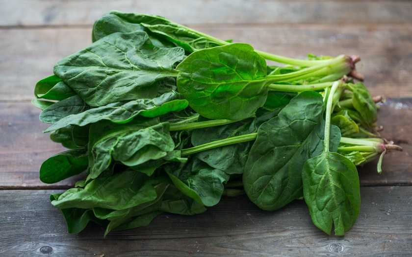 Organic Bunched Spinach