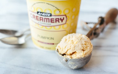 Pumpkin Cheesecake & Graham Cracker Ice Cream