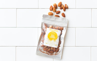 Organic Spicy Raw Lemon Almonds