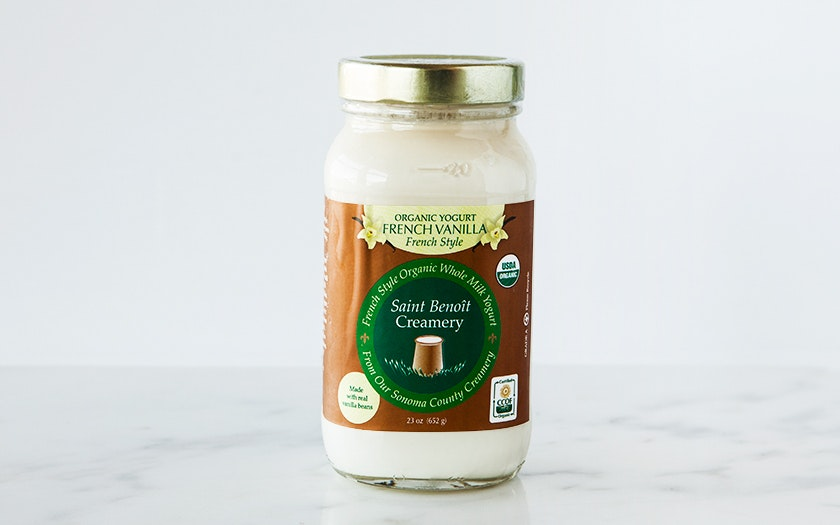 Organic French-Style Vanilla Yogurt