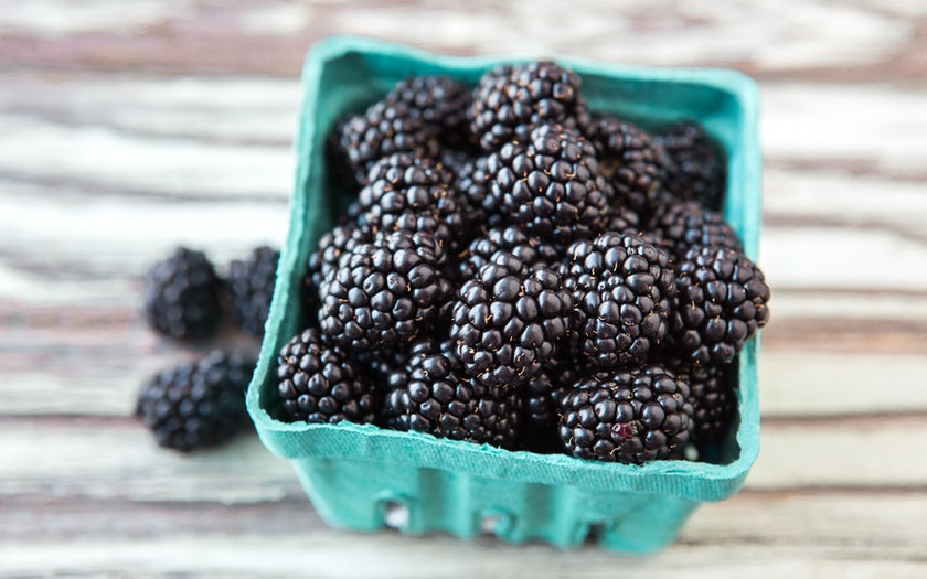 Organic Blackberries