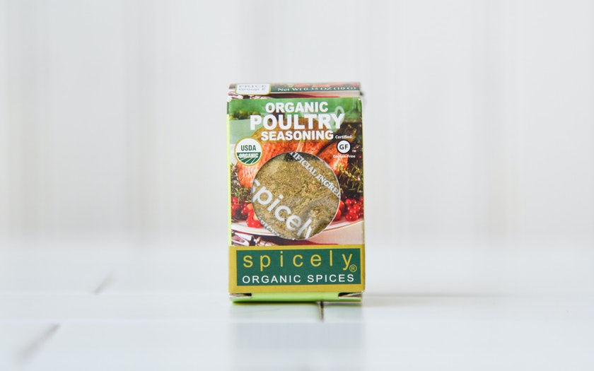 Organic Poultry Spice Blend