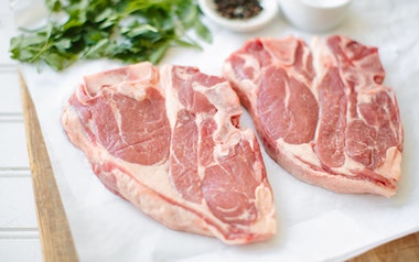 Grass-fed Lamb Shoulder Steak (Frozen)
