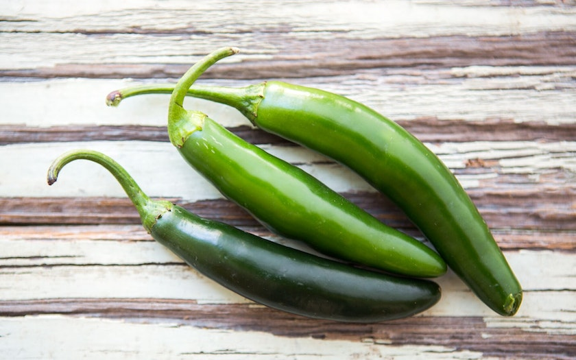 Organic & Fair Trade Serrano Pepper Trio (Mexico)