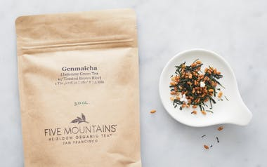 Organic Toasted Rice Genmaicha Loose Tea