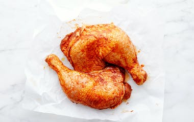 BBQ Marinated Chicken Legs
