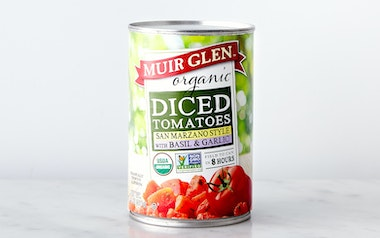 Organic Diced Tomatoes with Basil & Garlic