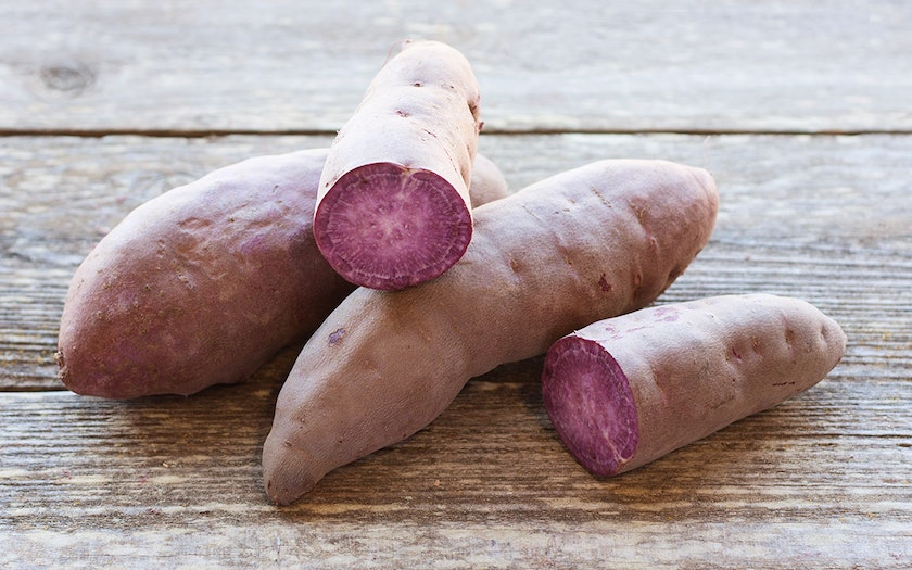 Organic Stokes Purple Sweet Potatoes