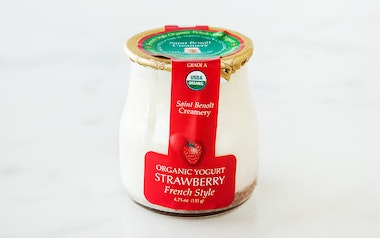 Organic French-Style Strawberry Yogurt