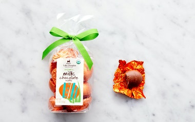 Organic Milk Chocolate Truffle Easter Eggs