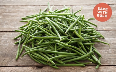 Bulk Organic & Fair Trade Green Beans (Mexico)