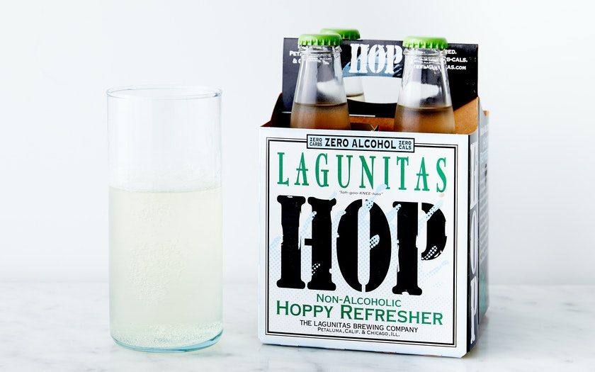 Non-Alcoholic Hoppy Refresher - Lagunitas Brewing