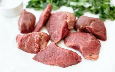 Grass-Fed Beef Stew Meat (Frozen)