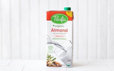 Organic Unsweetened Vanilla Almond Milk