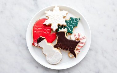 Assorted Hand Decorated Holiday Shortbread