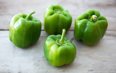 Organic Green Bell Peppers