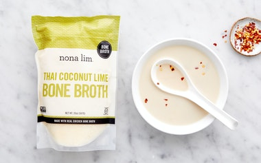 Thai Coconut Lime Bone Broth